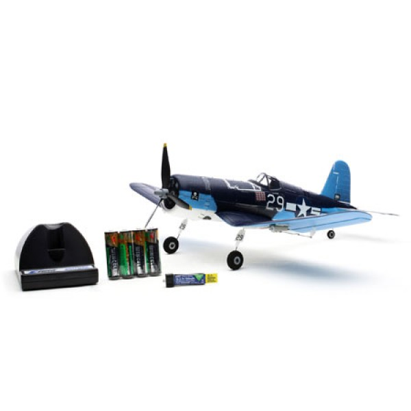 微型飛機 UMX F4U Corsair BNF with AS3X 絕版好機